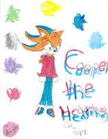 Cooper the Hedgehog by SilverLinedShadow
