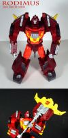 Rodimus 2010 Earth Form by Unicron9