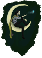 P3: The Man in the Moon by ZioCorvid