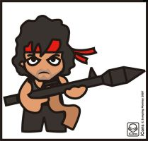 Rambo by JumpingMonkey