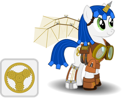 Steampunk is Magic Mascot Entry by 0Nautile18E26