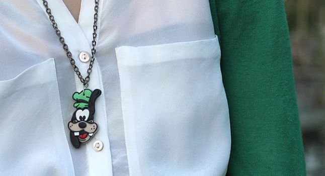 Goofy Goof Necklace by designandberries