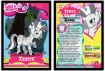 Xenith Trading Card by RinMitzuki