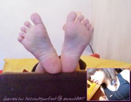 G Total Beauty Soles and Face by SelfshotYourFeet