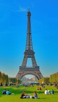 Eiffel Tower 2 by AlanSmithers
