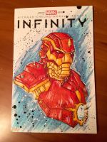 INFINITY IRON MAN SKETCHCOVER 001 by LeadHeavyArt