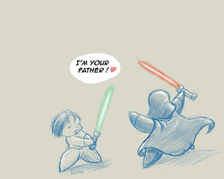 Star Wars : I am your father by GoshuFR