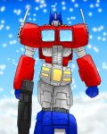 Optimus Prime mp by OmegaSupreme