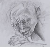 Gollum by chizzel