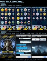 Kyle's Halo 3 iPhone Theme by KyleRobinsonCustoms