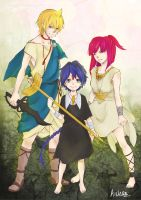 MAGI: THE POWER OF THREE by happiArts