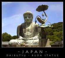 Japan - Buddha Statue by dark-spider