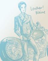 Blaine's motorcycle by staelus