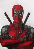 Deadpool (Drawing) by EduardoCopati