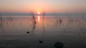 Sunrise at the Sea of Galilee by TESM