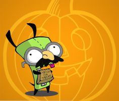 Trick OR Treat Gir by goRillA-iNK