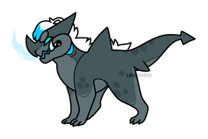 Shark dragon {Point auction} OPEN by LoserDoge