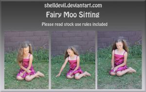 Fairy Moo Sitting by shelldevil
