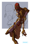 Dhalsim - Street Fighter Tribute by Pryce14