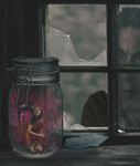 Fairy in a Jar by AllysonCarver