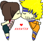 NaruTen kiss by Queen-of-Ice-Heart