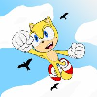 Ray the Flying Squirrel: Soaring So High by Zero20-2