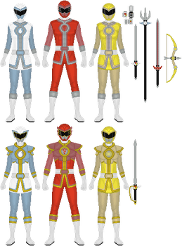 Comm: Shinwa Sentai Fabelranger, 1/3 by Omega-King-DX
