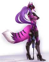 Widowmaker Selene :Commission: by CottonCandyTail