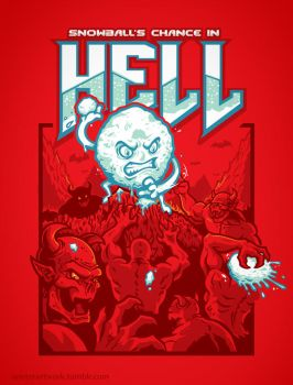 Snowball's Chance In Hell by Winter-artwork