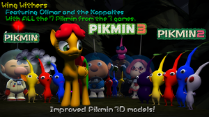 [SFM] Wingly with the Pikmin staff! by PonyPikmin1998