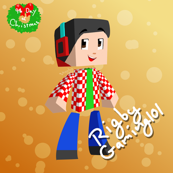 9th Day of Christmas! RigbyGaming101 by Skyelre
