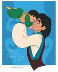 Aladdin and Ali: Fathers day 2016 by DarkmatterNova