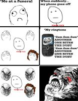 Funeral Rage Comic by CHL99