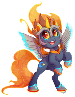 Commission: Bright Night by C-Puff