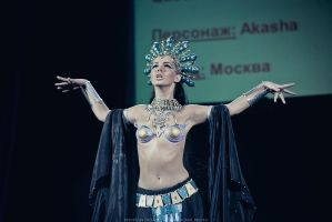 Akasha Queen of the damned cosplay by Nemu013