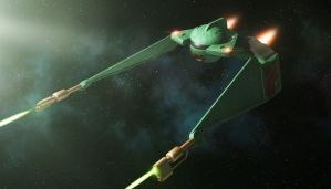 Judexavier's Klingon fighter by thefirstfleet