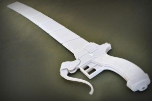 3D Printed 3DM Gear: Full Blade by ClothBender