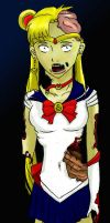 Zombie Sailor Moon by mtowreck