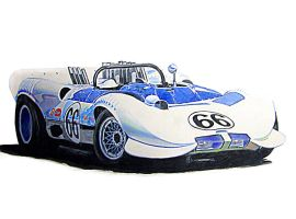 Chaparral 2C by johnwickart