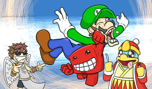 The new Smash brother by Memoski