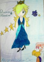 Rosalina's new dress by paratroopaCx