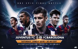 UEFA CHAMPIONS LEAGUE FINAL 2014/15 by Achrafgfx