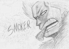 Smoker - One Piece by Gbtz007