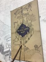 Marauder's Map WIP2 by ana-wandmaker