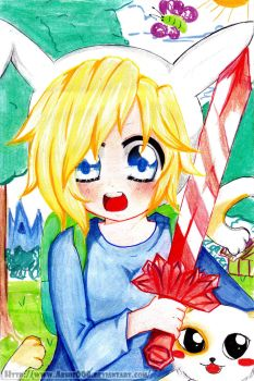 AT: Fionna And Cake by Abhie008
