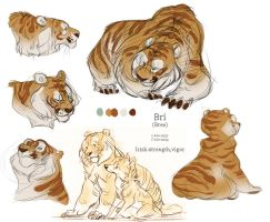 Bri doodles! by BearlyFeline