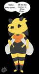 AT:The Shy Wasp by RB9