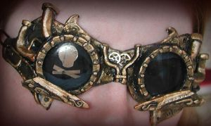 Steampunk Pirate Goggles II by Namingway