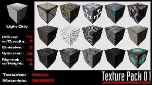 UDK Texture Pack 01 by DK2007