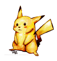 Pokemon: Pikachu by ReversedClock